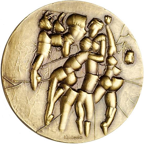 ESPAÑA. MEDALLA F.N.M.T. TITULADA FUTURO. 1.983