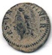 ESPAÑA. CARLOS III. 1 DINERO 1.708 BARCELONA