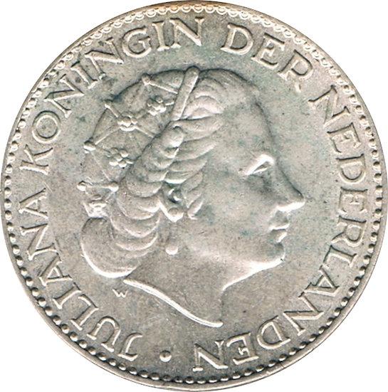 HOLANDA. 1 GULDEN. 1.956