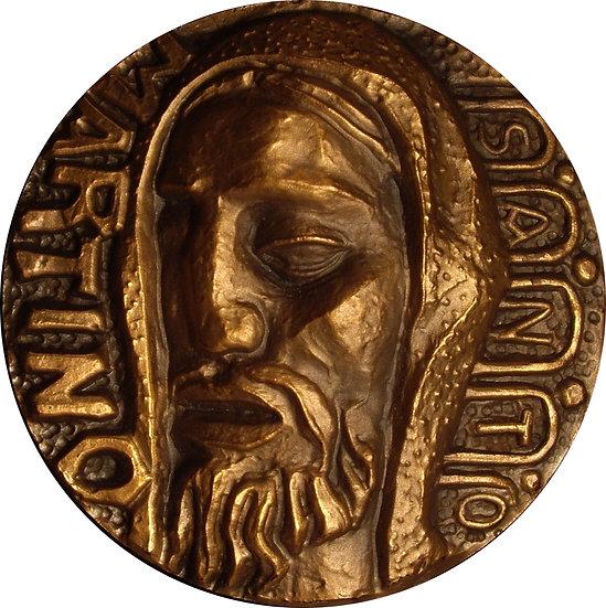 MEDALLA F.N.M.T. SANTO MARTINO. 1.968