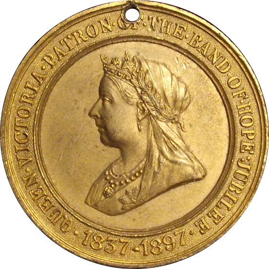 INGLATERRA. REINA VICTORIA. MEDALLA JUBILEO 60 ANIVERSARIO. 1.897
