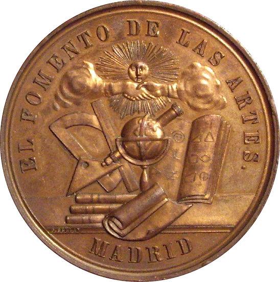 ESPAÑA. MEDALLA BIMILENARIO FUNDACIÓN MÉRIDA. 1.975