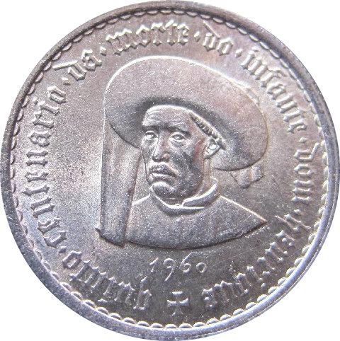 PORTUGAL. 5 ESCUDOS. 1.960