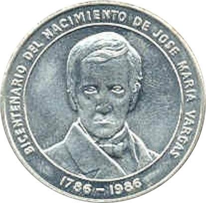VENEZUELA. 100 BOLÍVARES 1.986