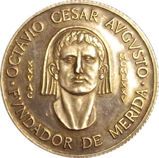 MEDALLA BIMILENARIO FUNDACIÓN MÉRIDA. 1.975