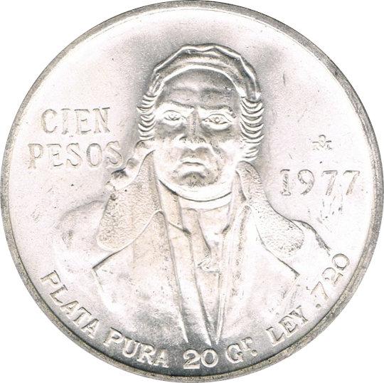 MÉXICO. 100 PESOS. 1.977