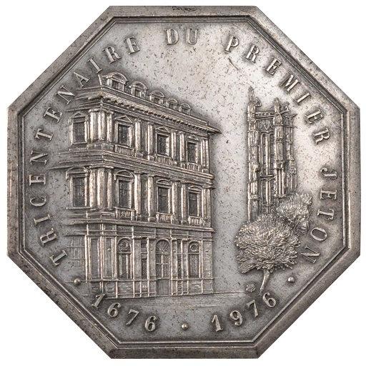 FRANCIA. MEDALLA ASOCIACIÓN DE NOTARIOS DE PARÍS. 1.976