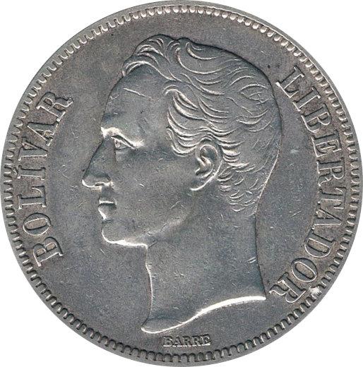 VENEZUELA. 5 BOLÍVARES 1.935