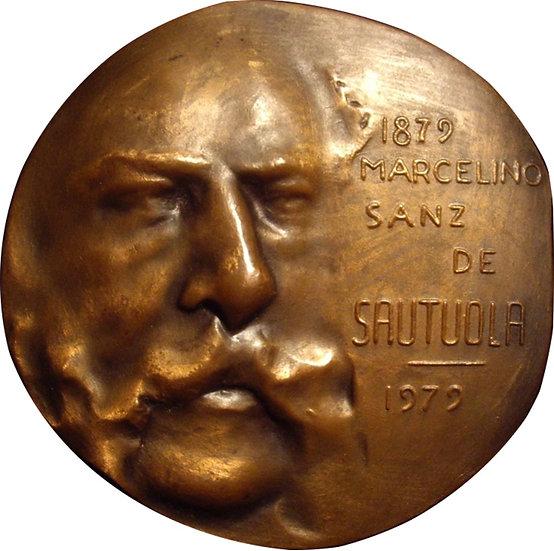 ESPAÑA. MEDALLA MARCELINO SANZ DE SAUTUOLA. CUEVAS ALTAMIRA. 1.979