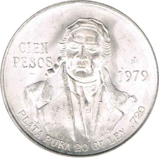 MÉXICO. 100 PESOS. 1.979