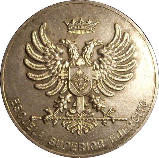 ESPAÑA. MEDALLA ESCUELA SUPERIOR DEL EJÉRCITO. 1.978