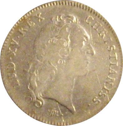 FRANCIA. LUIS XV. JETÓN DE LA REAL ACADEMIA DE CIENCIAS