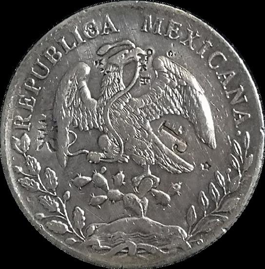 MÉXICO. 8 REALES. 1.890 (AM) CULIACÁN