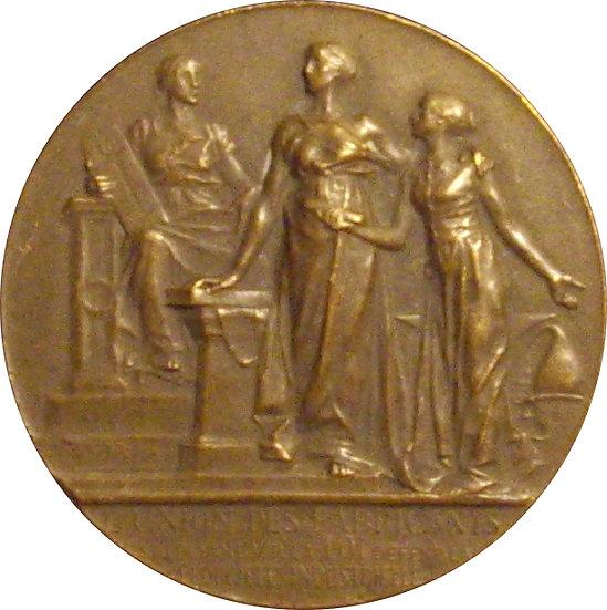 FRANCIA. MEDALLA UNIÓN DE FABRICANTES. 1.877