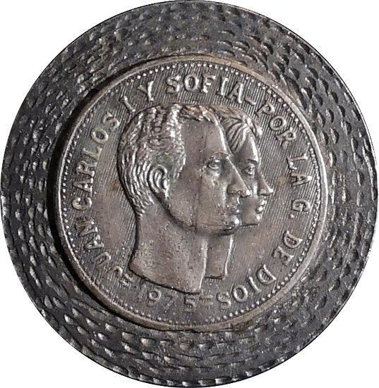 ESPAÑA. MEDALLA CORONACIÓN JUAN CARLOS I. 1.975