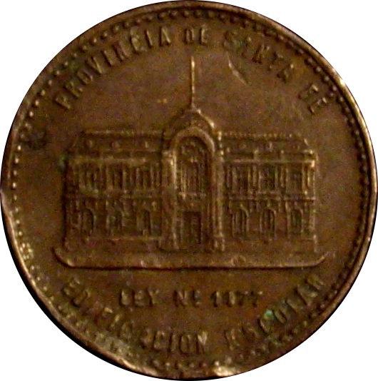 ARGENTINA. MEDALLA ESCUELAS PÚBLICAS DE ROSARIO. 1.904
