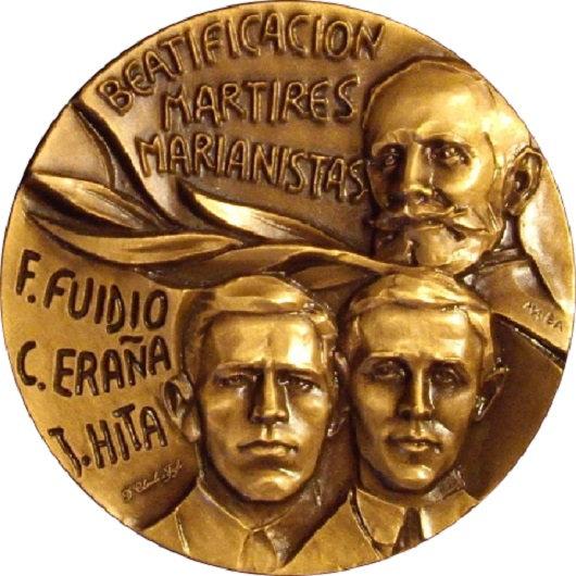 ESPAÑA. MEDALLA HERMANOS MARIANISTAS MARTIRES GUERRA CIVIL. 1.995