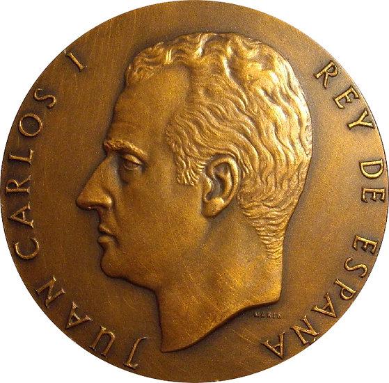 ESPAÑA. MEDALLA F.N.M.T. PROCLAMACIÓN JUAN CARLOS I REY. 1.975