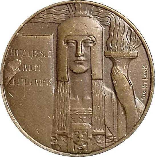 BÉLGICA. MEDALLA GEO VERBANCK. ART DECÓ. 1.920