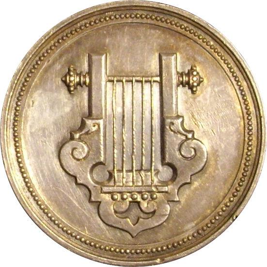 ISABEL II.  CONSERVATORIO DE MÚSICA DEL LICEO. BARCELONA