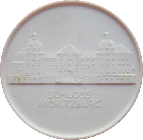 ALEMANIA. MEDALLA PORCELANA. CASTILLO DE MORITZBURG