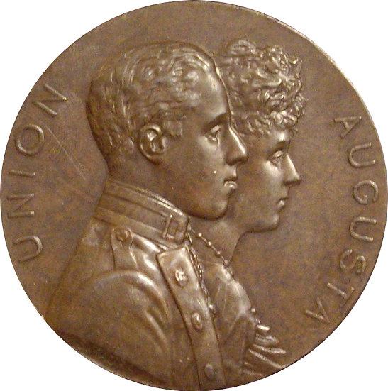 BODA ALFONSO XIII Y VICTORIA EUGENIA BATTENBERG  1.906