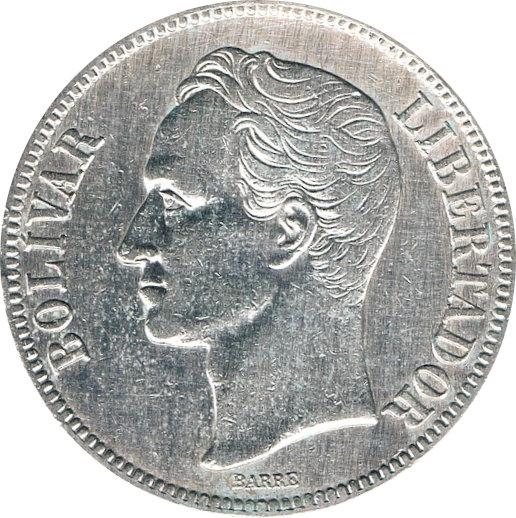 VENEZUELA. 5 BOLÍVARES 1.929