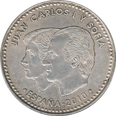ESPAÑA. JUAN CARLOS I. 20 EUROS. 2.010. CAMPEONES DEL MUNDO