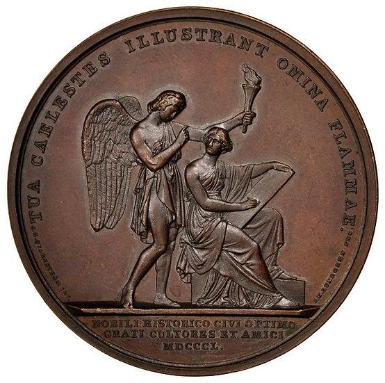SUECIA. MEDALLA DE ERIK GUSTAF GEIJER. 1.850