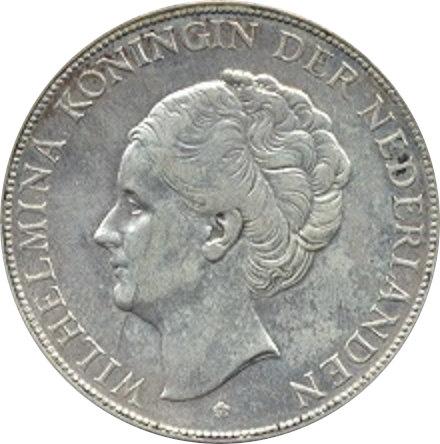 HOLANDA. 2 1/2 GULDEN. 1.932