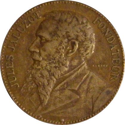 FRANCIA. MEDALLA JULES JALUZOT. ALMACENES AU PRINTEMPS. 1.890