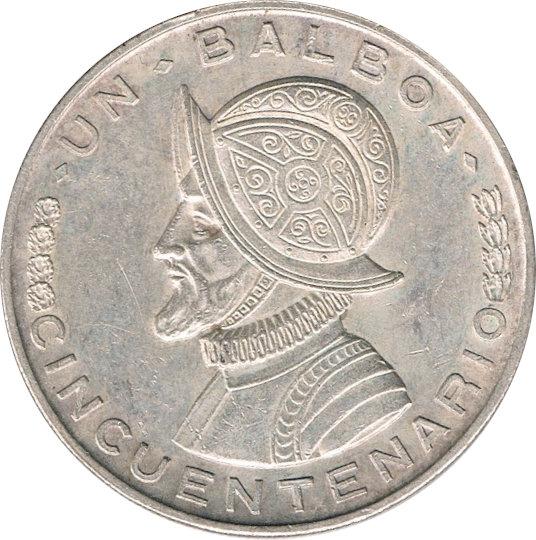 PANAMÁ. 1 BALBOA. 1.953. CINCUENTENARIO