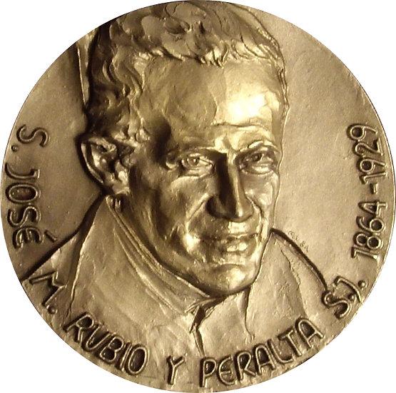 MEDALLA SAN JOSE M. RUBIO Y PERALTA. 2.003