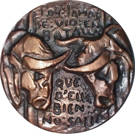 ESPAÑA. MEDALLA F.N.MT. BERNARDO DEL CARPIO. 1.971