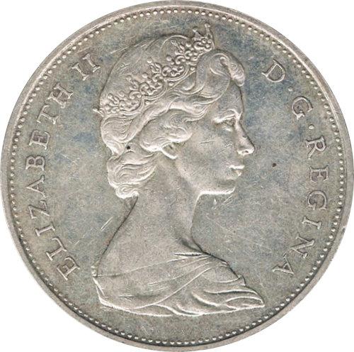 CANADÁ. 1 DÓLAR. 1.965
