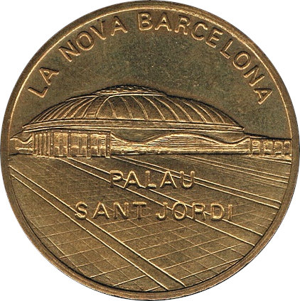 ESPAÑA. MEDALLA EXFIME 90. I EXPOSICIÓN FILATÉLICA DEL MEDITERRÁNEO. 1.990