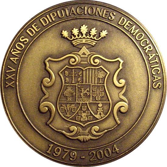 ESPAÑA. MEDALLA DIPUTACIÓN PROVINCIAL DE HUESCA. 2.004