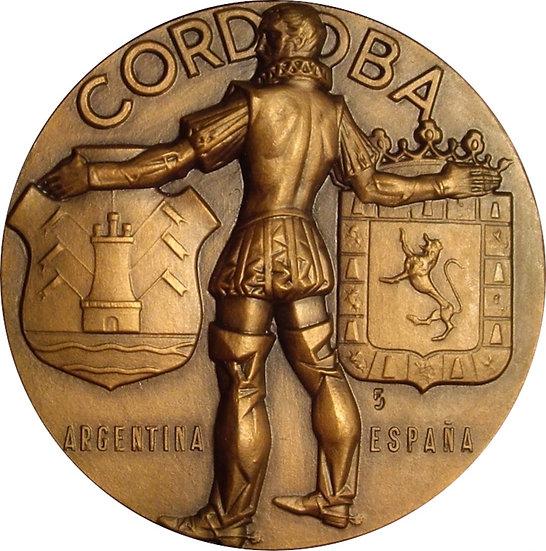 ESPAÑA. MEDALLA F.N.M.T. SERIE CIUDADES. CÓRDOBA. 1.968