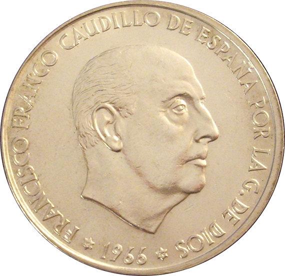 ESPAÑA. FRANCISCO FRANCO. 100 PESETAS 1.966 * 70