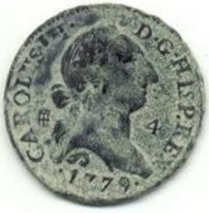 ESPAÑA. CARLOS III. 4 MARAVEDÍS. 1.779 SEGOVIA
