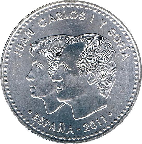 ESPAÑA. JUAN CARLOS I. 20 EUROS. 2.011. CENTENARIO DÍA INTERNACIONAL DE LA MUJER