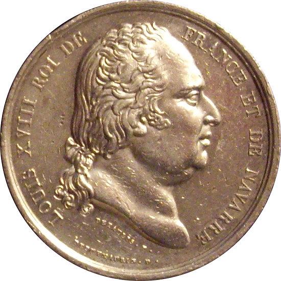 FRANCIA. LUIS XVIII. QUO NON HAC DUCE. 1.821