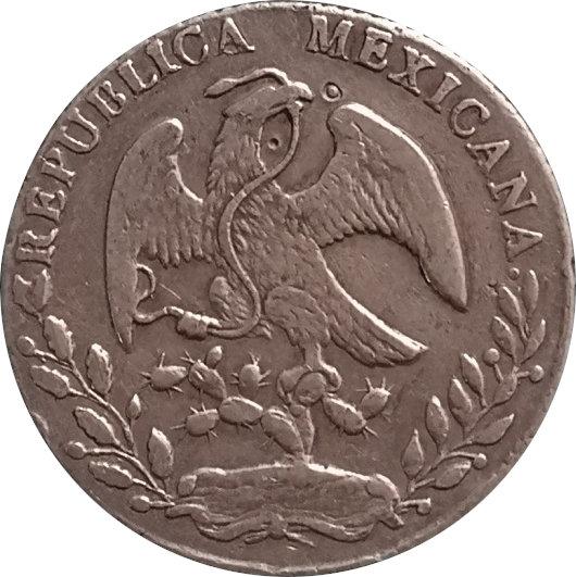 MÉXICO. 8 REALES. 1.863 (RO) SAN LUIS POTOSÍ