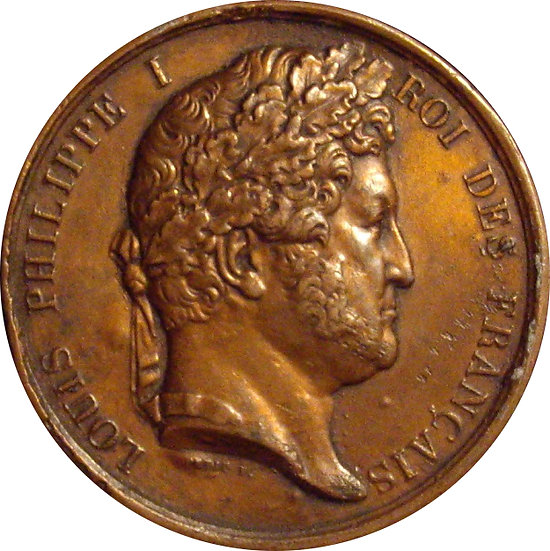 FRANCIA. MEDALLA LUIS FELIPE I. 1.831