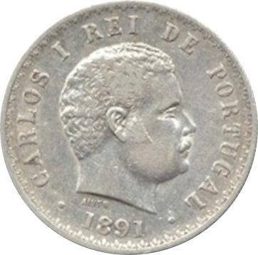 PORTUGAL. 500 REIS. 1.891