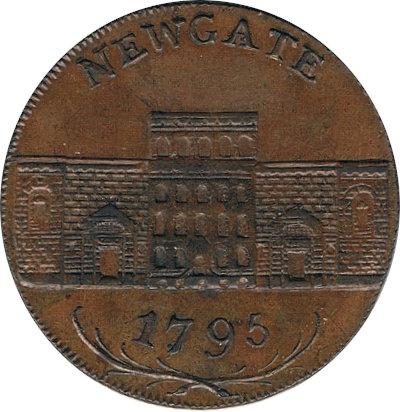 INGLATERRA. 1/2 PENNY TOKEN. 1.795. LONDRES
