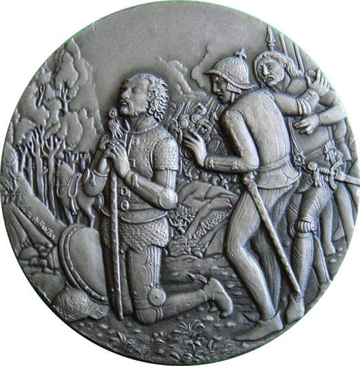 PORTUGAL. MEDALLA VASCO DE GAMA EN LA INDIA 1.991