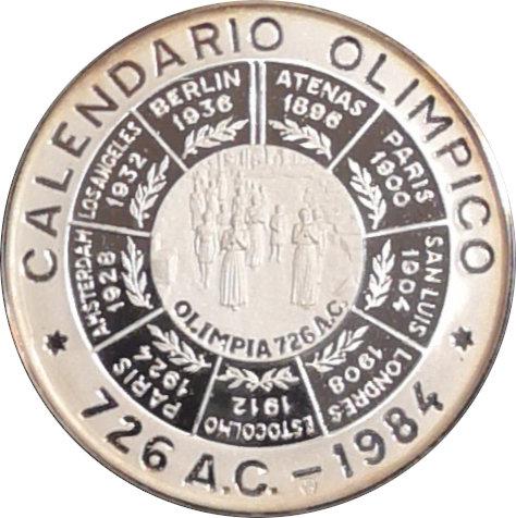 ESPAÑA. MEDALLA DE LOS JUEGOS OLÍMPICOS LOS ÁNGELES. 1.984