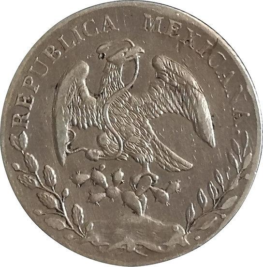 MÉXICO. 8 REALES. 1.889 (RR) GUANAJUATO