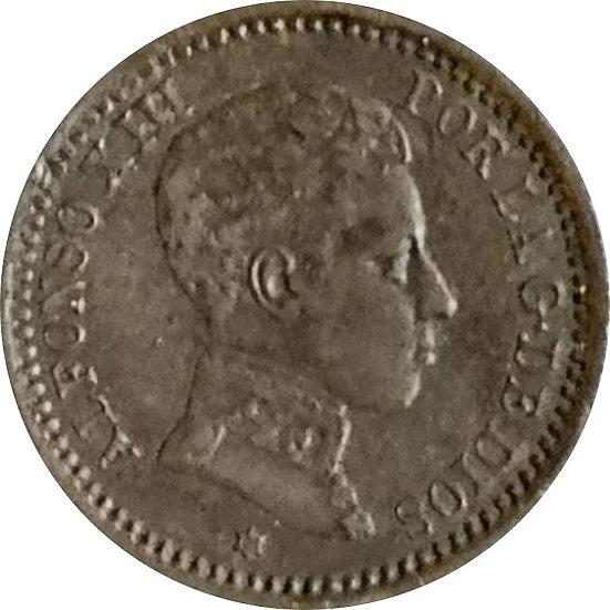 ESPAÑA. ALFONSO XIII.  2 CÉNTIMOS 1905*05 SM-V